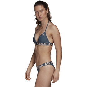 adidas Neckholder Bikini Damen legacy blue